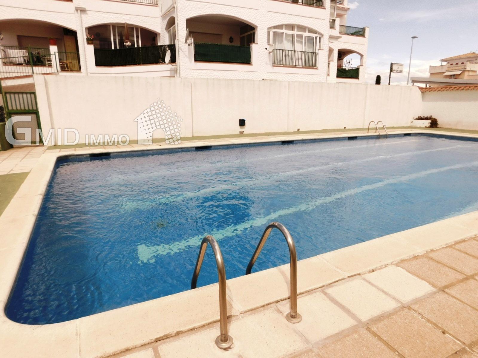 Appartamento con 1 camera da letto, piscina comune a ...