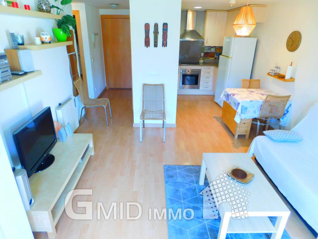 Appartamento con 1 camera da letto e piscina comune a Santa ...