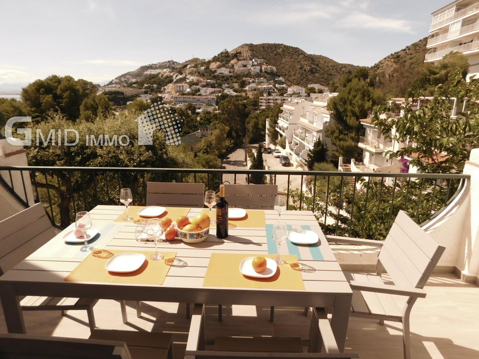 Casa de vacaciones cerca de la playa en almadrava roses costa brava inmuebles gmid immo - Casas en roses ...
