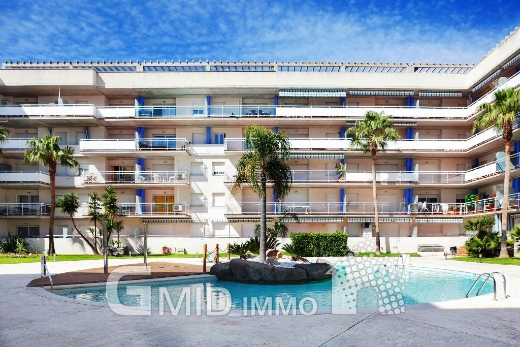 Appartement santa margarita avec grande terrasse et for Appartement grande terrasse