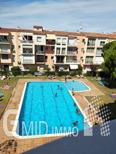 En venta piso 1 habitacion en Gran Reserva, Empuriabrava, Costa Brava