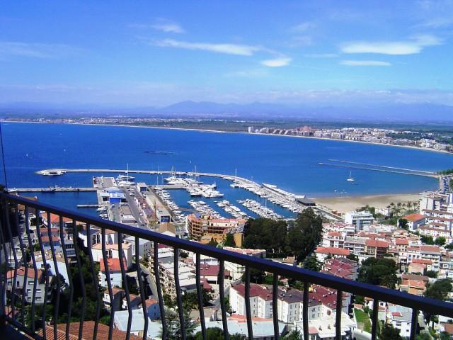 Casa de vacaciones con espectaculares vistas al mar en Puig Rom, Roses, Costa Brava