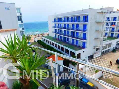 Appartamento con 2 camere da letto con bella terrazza e vista mare a Salatar, Roses
