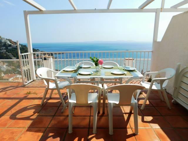 Casa de vacaciones en Canyelles, Roses, Costa Brava