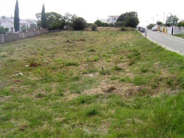 Terrenos en una urbanización de Roses