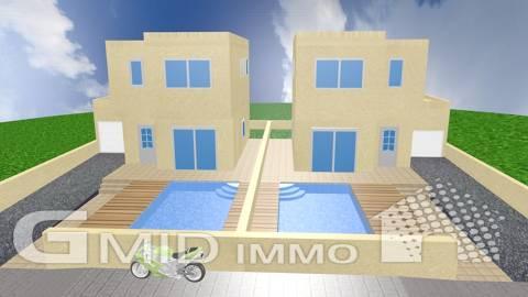 Casas de nueva construcción, 3 habitaciones, piscina y garaje Empuriabrava