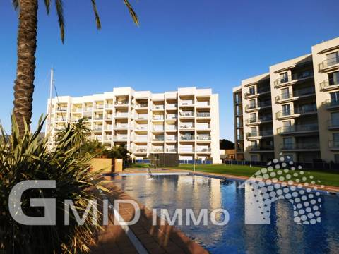 En vente appartement dernier étage 2 chambres, terrasse, débarras, parking et piscine, Santa Margarita, Roses, Costa Brava