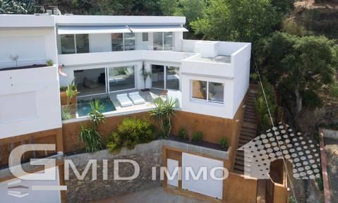 Casa de nueva construcción con vistas a la bahía de Roses, Costa Brava