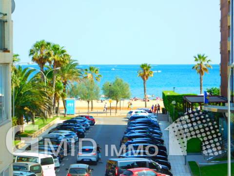 Apartamento 1 habitacion con parking a 100m de la playa Santa Margarita, Roses