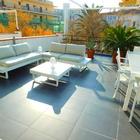 Piso cerca de la playa con gran terraza, parking y con vistas al mar en Salatar, Roses