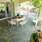 Alquiler temporada piso de 2 habitaciones con piscina y parking privados a 400m de la playa de Roses, Costa Brava