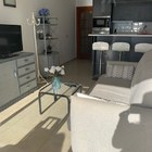 Espléndido apartamento de 1 dormitorio en primera línea del mar con parking Roses